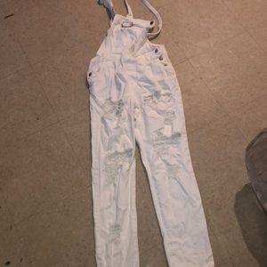 White overalls